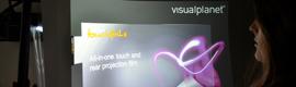 Activa Media lanza en España el Touchfoil de retroproyección de Visual Planet