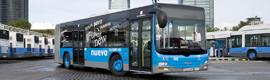 9.000 ojos vigilan los autobuses urbanos de Madrid