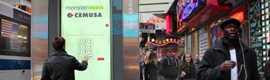 Monster Media and Cemusa carry the interactivity to the kiosks of press of Times Square