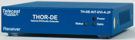 Telecast launches new modules of the family of Thor optical fibre Extenders