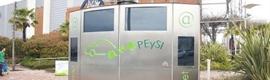 VER inaugura el primer punto de recarga para vehículos eléctricos con publicidad dinámica incorporada