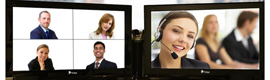 Manufacturers and suppliers of videoconferencing solutions are positioned