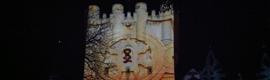 Un video mapping en el Alcázar de Segovia conmemora el 150 aniversario del incendio de 1862