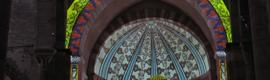Proyección 3D para recrear la evolución de la pintura mural palentina
