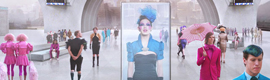 Facial recognition, augmented reality and gesture control to promote 'The hunger games'