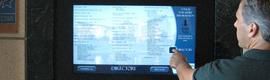 CB Richard Ellis incorpora en sus oficinas directorios digitales interactivos
