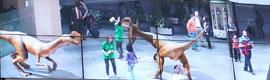 La estación de Atocha se llenó de dinosaurios gracias a la realidad aumentada