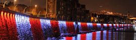 El Muelle de Las Arenas de Getxo se iluminará para celebrar eventos culturales y deportivos