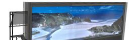 Paradigm AV lanza una nueva pantalla de cristal de proyección trasera ultra ancha