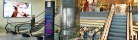 El Corte Inglés instala dispositivos de cartelería digital para comunicarse con sus clientes
