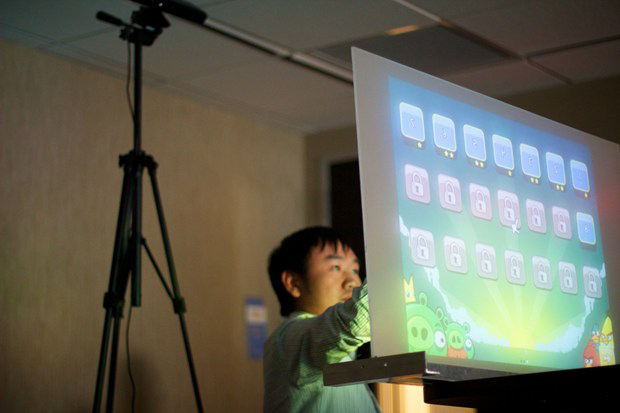 Ubi turns any wall into a 3D screen thanks to Kinect