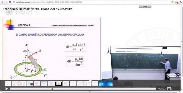 La universidad polit cnica de valencia lanza un servicio for Universidad de valencia online