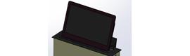 Albiral presenta el nuevo elevador universal ULS para pantallas LCD