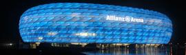 El Allianz Arena de Munich combina la experiencia del deporte con la tecnología de Siemens