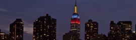 La iluminación del Empire State será más creativa gracias a la tecnología LED