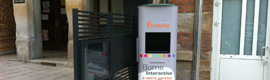 Atomedia provides the city of Firminy an interactive kiosk for administrative procedures