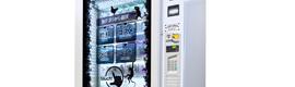 SandenVendo desvela en Venditalia un nuevo concepto de venta automática con escaparate táctil