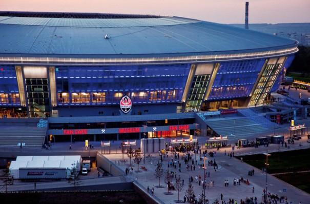La tecnolog a de mobotix garantizar la seguridad del for Estadio arena