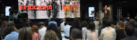 Iwall in shop and Publimedia 'excited' in Barcelona