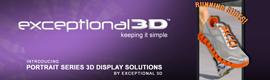 Exceptional 3D estrena la serie Portrait de displays 3D sin gafas