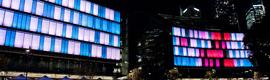 Inauguran en Sidney la instalación luminosa interactiva más grande del mundo