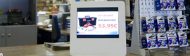 Ateire develops a new mini digital totem for the point of sale