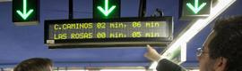 Metro de Madrid instala un nuevo sistema de información en todas sus líneas