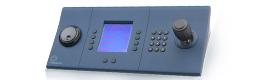 Nuevo teclado de vigilancia de IndigoVision, control rápido y sencillo al alcance de la mano