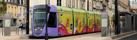 GESAB instala la consola de control Advantis en el tranvía de Reims