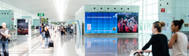 JCDecaux installs three new videowalls at the airport in Barcelona