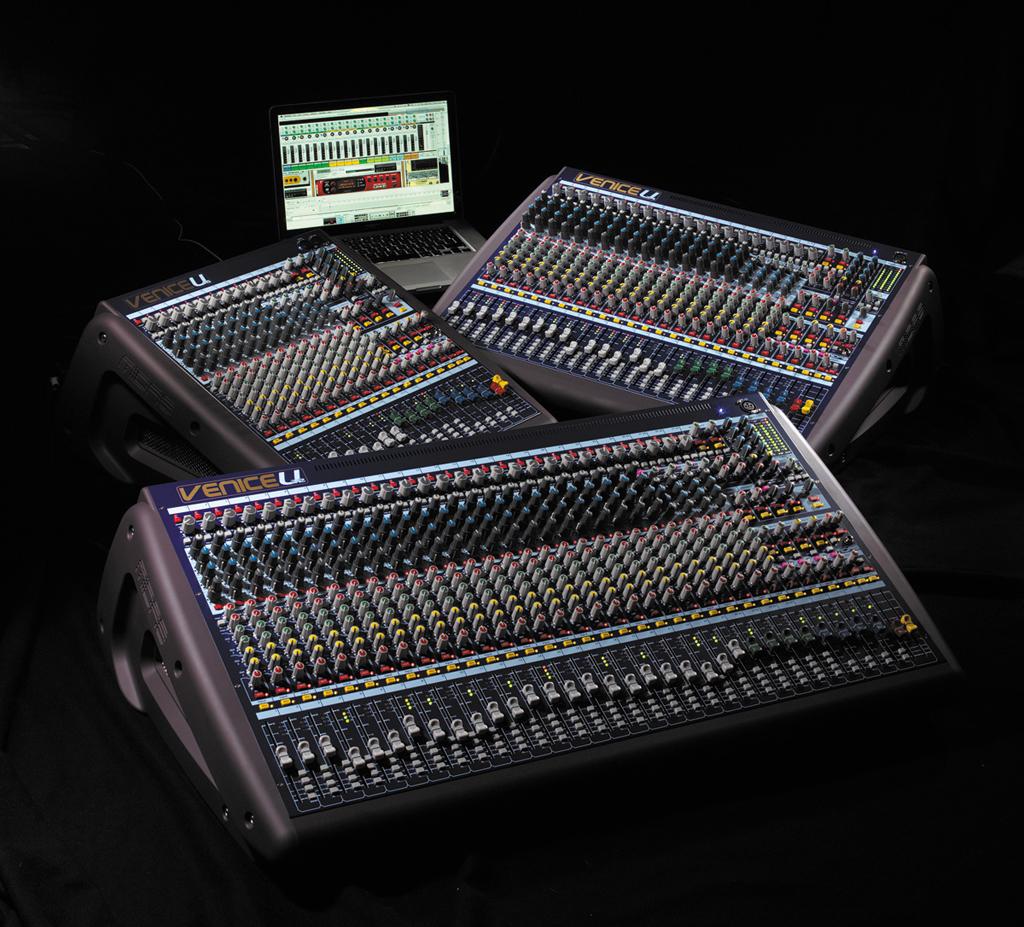 Midas presenta la nueva gama de mesas de mezclas venice u for Programa mesa de mezclas