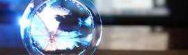Colloidal Display: imágenes 3D en una burbuja de jabón