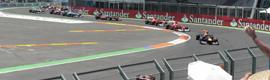 D.A.S. Audio garantizó la calidad del sonido en el Gran Premio de Europa de Fórmula 1