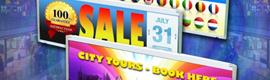 Ginsbury amplía su cartera de pantallas LCD de digital signage