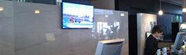 El Hotel Puerto Juan Montiel de Águilas estrena sistema de cartelería digital