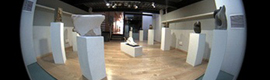 Two Mobotix cameras monitor an art exhibition at the Polytechnic University of Valencia