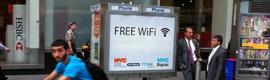 Nueva York transforma sus cabinas telefónicas en puntos Wi-Fi gratuitos