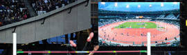 The London 2012 Games will use a record amount of audiovisual equipment Panasonic
