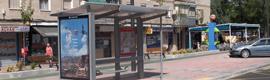 Siete paradas de autobús de Getafe incorporan paneles electrónicos de información en tiempo real
