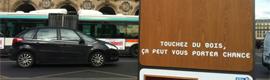 """Una original campaña interactiva de la Lotería invita a los franceses a """"tocar madera"""""""
