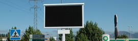 Giants are 3 LED screens in the Poligono Industrial P-29 of Collado Villalba