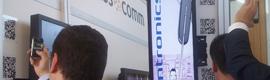 Masscomm integra la cartelería digital de Spinetix con códigos QR
