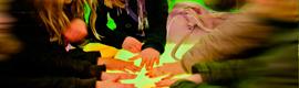 Una instalación audiovisual muestra el mosaico de paisajes de España en Expo Floriade 2012