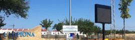 Las localidades de Sanlúcar y Chipiona estrenan pantallas LED informativas