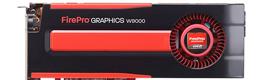 AMD lanza sus nuevas gráficas profesionales FirePro W9000, W8000, W7000 y W5000