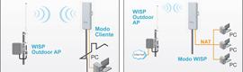 AirLive anuncia sus nuevos CPEs wireless multifuncionales para exteriores AirMax5N y AirMax5N ESD