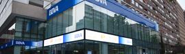 John Ryan suministra al BBVA el display LED más largo de España