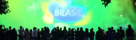 Río 2016 invita al mundo a los Juegos con una espectacular proyección sobre el agua
