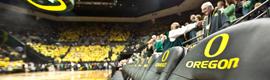 La Universidad de Oregon recurre a Haivision para instalar un sistema de digital signage en su nuevo pabellón deportivo