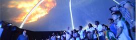 Samsung SpaceFest, espectáculo de proyección inmersiva 3D de 360 grados